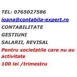 Contabila expert, part time inclusiv res.umane